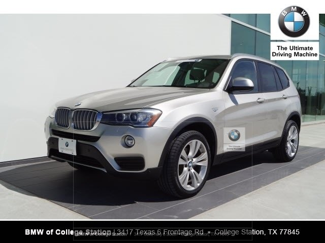 Certified Pre Owned 2016 Bmw X3 Xdrive35i