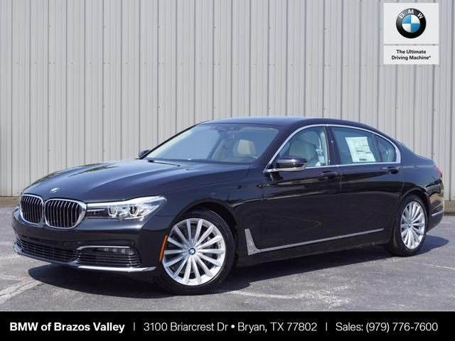 new 2018 bmw 7 series 740i 4d sedan in bryan 742322 bmw of brazos valley. Black Bedroom Furniture Sets. Home Design Ideas