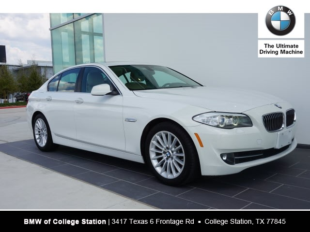 BMW Pre Owned >> Pre Owned 2013 Bmw 5 Series 535i Rwd 4d Sedan