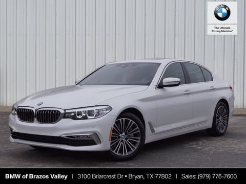 New 2018 BMW 5 Series 530i